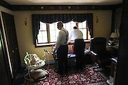 9/8/12 2:28:33 PM - Buckingham, PA.. -- Lindsay & Greg - September 8, 2012 in Buckingham, Pennsylvania. -- (Photo by William Thomas Cain/Cain Images)