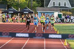 Adrian Martinez Classic track meet, Men's High Performance 800m, section 2 (fast), Mike Rutt, Ryan Martin