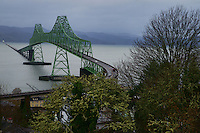 Astoria-Megler Bridge & Columbia River, Astoria, Oregon, USA