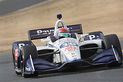 September 14, 2018 - Sonoma, CA, U.S. - SONOMA, CA - SEPTEMBER 14: Pietro Fittapaldi goes thru the Turn 9a area during the Verizon IndyCar Series practice for the Grand Prix of Sonoma on September 14, 2018, at Sonoma Raceway in Sonoma, CA. (Photo by Larry Placido/Icon Sportswire) (Credit Image: © Larry Placido/Icon SMI via ZUMA Press)