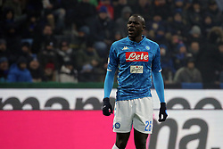December 26, 2018 - Milan, Milan, Italy - Kalidou Koulibaly #26 of SSC Napoli during the serie A match between FC Internazionale and SSC Napoli at Stadio Giuseppe Meazza on December 26, 2018 in Milan, Italy. (Credit Image: © Giuseppe Cottini/NurPhoto via ZUMA Press)