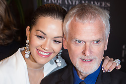 Rita Ora and director James Foley attends Fifty Shades Freed world premiere at Salle Pleyel on February 06, 2018 in Paris, France. Photo by Nasser Berzane/ABACAPRESS.COM