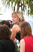at the 'Un Chateau En Italie' film photocall at the Cannes Film Festival  Tuesday 21 May 2013
