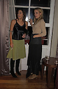 Jessica de Rothschild and Bay Garnett, Party to celebrate the publication of 'Rita's Culinary Trickery' by Rita Konig. Morton's. 18 November 2004.  ONE TIME USE ONLY - DO NOT ARCHIVE  © Copyright Photograph by Dafydd Jones 66 Stockwell Park Rd. London SW9 0DA Tel 020 7733 0108 www.dafjones.com