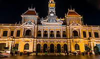 Hotel de Ville (Ho Chi Minh City Hall), Ho Chi Minh City, Vietnam.