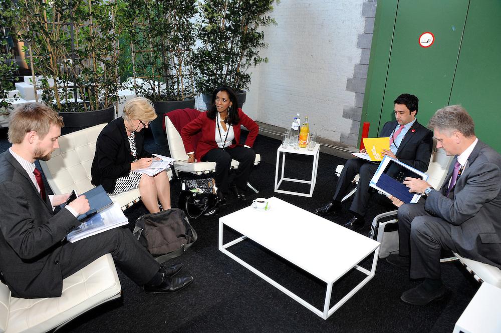 20150604- Brussels - Belgium - 04 June2015 - European Development Days - EDD  - Linda McAvan, Jean-Mardc Châtaigner © EU/UE