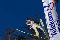 Robert Kranjec of Slovenia competes during Flying Hill Individual at 4th day of FIS Ski Jumping World Cup Finals Planica 2011, on March 20, 2011, Planica, Slovenia. (Photo by Vid Ponikvar / Sportida)