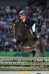 Nicola Wilson, (GBR), Annie Clover - Jumping Eventing - Alltech FEI World Equestrian Games™ 2014 - Normandy, France.<br /> © Hippo Foto Team - Leanjo De Koster<br /> 31-08-14