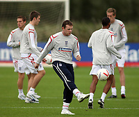 Photo: Paul Thomas.<br /> England Training. 06/10/2006.<br /> <br /> Wayne Rooney.