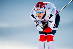 February 2, 2018 - Goms, SWITZERLAND - 180202 Mattis Stenshagen of Norway competes in the men's 15/15 km skiathlon during the FIS U23 Cross-Country World Ski Championships on February 2, 2018 in Obergoms..Photo: Vegard Wivestad GrÂ¿tt / BILDBYRN / kod VG / 170096 (Credit Image: © Vegard Wivestad Gr¯Tt/Bildbyran via ZUMA Press)