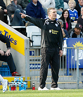 Photo: Steve Bond/Richard Lane Photography. Leicester City v Carlisle United. Coca Cola League One. 04/04/2009. Nigel Pearson on the touchline