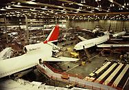 Atlanta, GA 1979/03/01 The Lockheed Tri Star being manufactured at the Martin Plant.<br />Photo by Dennis Brack