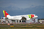 CS-TTP TAP - Air Portugal Airbus A319-111 at Malpensa (MXP / LIMC), Milan, Italy