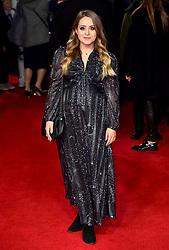 Fleur De Force attending the european premiere of Star Wars: The Last Jedi held at The Royal Albert Hall, London.