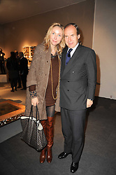 VIP reception of the Pavilion of Art & Design London 2010 held in Berkeley Square, London on 12th October 2010.<br /> Picture Shows:-SIMON DE PURY and MICHAELA NEUMEISTER.
