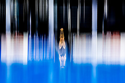 A diver practices - Photo mandatory by-line: Rogan Thomson/JMP - 07966 386802 - 20/08/2014 - SPORT - DIVING - Berlin, Germany - SSE im Europa-Sportpark - 32nd LEN European Swimming Championships 2014 - Day 8.