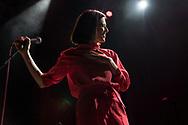 Berlin-based Australian singer-songwriter Kat Frankie supporting Future Islands at Schlachthof Wiesbaden