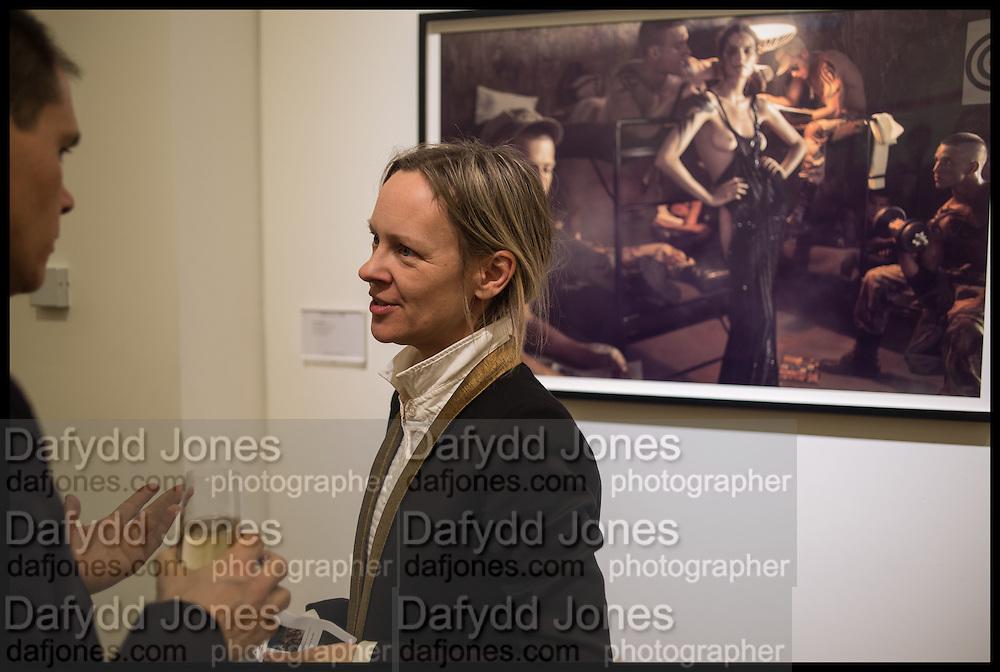 LOU PROUD;  Steven Meisel: Role Play - private view Phillips,, Berkeley Sq. London. 16 December 2014.