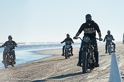 Back to the start at the Race of Gentlemen. Wildwood, NJ, USA. October 11, 2015.  Photography ©2015 Michael Lichter.