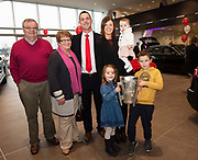 James Ryan and Family  and The Liam McCarthy at Connolly Motor Group has opened its new state-of-the-art Audi Terminal Showrooms in Ballybrit, Galway. <br /> The finishing touches have been put to the ultra-modern dealership, increasing to 35 full-time jobs, bringing the number of full-time employees at the Connolly Motor Group to over  200 with 35 of those located in Galway.<br /> Work on the new €5 million state-of-the-art dealership began just before Christmas last year and opened on Tuesday October 31st.<br /> The new 'Audi Terminal' is just a stone's throw from Connollys' former Audi Galway dealership at the Briarhill Business Park, close to the Galway Racecourse in Ballybrit. <br /> Finished to the highest spec with the most up-to-date technology, the 23,000 sq. ft. car retail facility is based around Audi's newest design concept. <br /> It is one of the most modern facilities in the country and includes the most up-to-date technology for electric vehicles with multiple power points.<br />  Photo:Andrew Downes