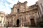 ECUADOR, COLONIAL QUITO La Compania, Jesuit Church c1605