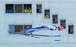 31.12.2017, Olympiaschanze, Garmisch Partenkirchen, GER, FIS Weltcup Ski Sprung, Vierschanzentournee, Garmisch Partenkirchen, Training, im Bild Andreas Wank (GER) // Andreas Wank of Germany during his Practice Jump for the Four Hills Tournament of FIS Ski Jumping World Cup at the Olympiaschanze in Garmisch Partenkirchen, Germany on 2017/12/31. EXPA Pictures © 2017, PhotoCredit: EXPA/ Jakob Gruber