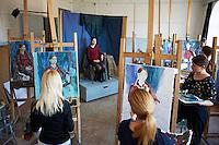 Russie, Siberie, Fédération de Irkoutsk, Irkoutsk, ecole des Beaux Arts // Russia, Siberia, Irkutsk, Fine Art school