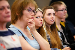 © Licensed to London News Pictures. 19/08/2015. London, UK. Women listening Labour Party leader candidate Yvette Cooper at a women's event at Coin Street Conference Centre in London on August 19, 2015. Photo credit: Tolga Akmen/LNP