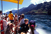 Zodiak ride, Napli Coast, Kauai, Hawaii<br />