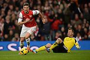 Arsenal v Southampton 231113