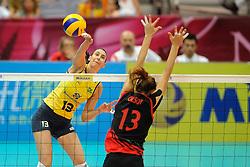 01-07-2012 VOLLEYBAL: WGP FINAL BRAZILIE - TURKIJE: NINGBO<br />Sheilla Castro<br />©2012-FotoHoogendoorn.nl