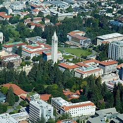 Aerial view of the <br /> University of California, Berkeley<br /> Berkeley, CA, United States