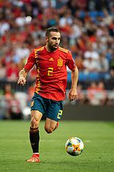 June 10, 2019 - Madrid, SPAIN - 190610 Dani Carvajal of Spain during the UEFA Euro Qualifier football match between Spain and Sweden on June 10, 2019 in Madrid..Photo: Joel Marklund / BILDBYRÃ…N / kod JM / 87972 (Credit Image: © Joel Marklund/Bildbyran via ZUMA Press)