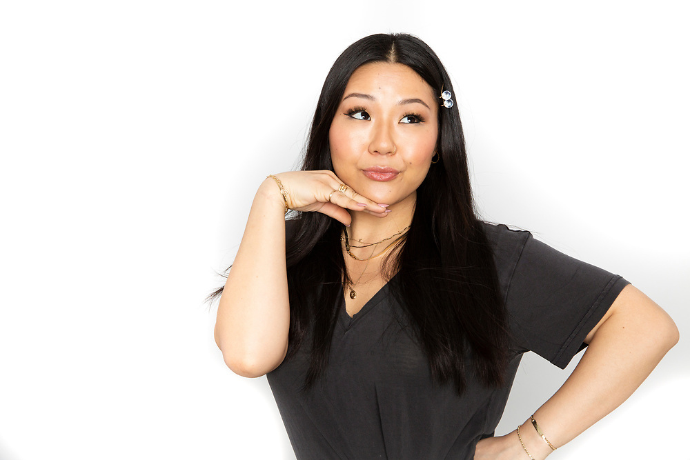 Ulta Beauty Campaign for PureWow, model and TV personality Ellie Lee, 2019.