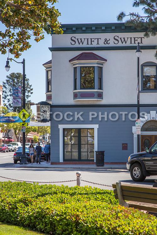 Orange & Chapman Intersection at Orange Plaza Historic District