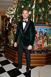 THOM EVANS at the Claridge's Christmas Tree By Dolce & Gabbana Launch Party held at Claridge's, Brook Street, London on 26th November 2013.