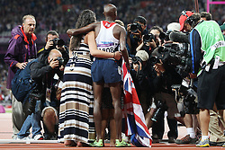 Olympics - London 2012 Olympic Games - Athletics - Men's 10.000m - 5/8/12.Great Britain's Mo Farah.© pixathlon
