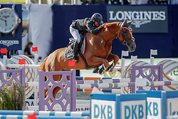 Goldstein Danielle, ISR, Lizziemary<br /> First round Global Champions League <br /> CSI5* Global Champion Tour of Berlin 2017<br /> © Hippo Foto - Stefan Lafrentz
