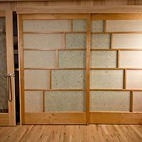 Shoji screen doors<br /> Alder and custom paper<br /> handcrafted for the most amazing customized trailer home in Boulder, Co. custom doors, handmade