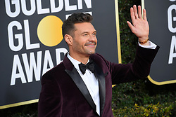 January 6, 2019 - Los Angeles, California, U.S. - Jan 6, 2019 - Beverly Hills, California, U.S. - Ryan Seacrest during red carpet arrivals for the 76th Annual Golden Globe Awards at The Beverly Hilton Hotel..(Credit: © Kevin Sullivan via ZUMA Wire) (Credit Image: © Kevin Sullivan via ZUMA Wire)