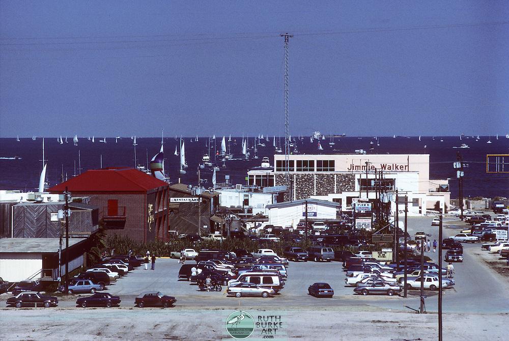 1988 Kemah Restaurants -Jimmie Walker's, Brass Parrott, Joe Lee's and Pier 6