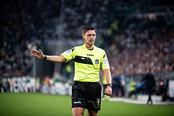 April 22, 2018 - Turin, Piedmont/Turin, Italy - Gianluca Rocchi durig the Serie A match Juventus FC vs Napoli. Napoli won 0-1 at Allianz Stadium, in Turin, Italy 22nd april 2018 (Credit Image: © Alberto Gandolfo/Pacific Press via ZUMA Wire)