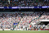 Picture by Andrew Tobin/Focus Images Ltd +44 7710 761829.26/05/2013.General crowd scene during the match between England and the Barbarians at Twickenham Stadium, Twickenham.