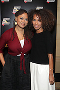 New York, NY-October 5: (L-R) Director Ava DuVenay (Honoree) and Television Producer Mara Brock Akil attend the ColorOfChange.org's 10th Anniversary Gala held at Gotham Hall on October 5, 2015 in New York City.  Terrence Jennings/terrencejennings.com