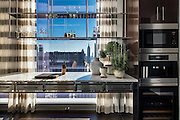 Kitchen in Baccarat Residences, NYC