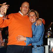 Sterrenboxen Ahoy, Herman den Blijker en partner Jacqueline Doesburg
