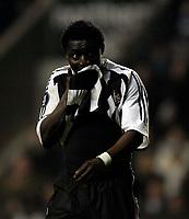 Photo: Jed Wee/Sportsbeat Images.<br /> Newcastle United v Zulte-Waregem. UEFA Cup, 2nd Leg. 22/02/2007.<br /> <br /> Newcastle's Obafemi Martins.