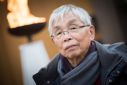 """9 December 2017, Oslo, Norway: Some 22 """"Hibakusha"""", survivors from the atomic bombings in Hiroshima and Nagasaki, joined Norwegian representatives the mayor of Oslo, principal of Oslo University, and the head of the Oslo Museum of National History for an event themed """"Seeds for Peace"""" in the Oslo Botanical Garden. As a token of hope, together they planted seeds, as part of the Nobel Peace Prize celebrations in Oslo on 9-10 December. Oslo hosts the Nobel Peace Prize award ceremony on 9-10 December 2017. The prize in 2017 goes to the International Campaign to Abolish Nuclear Weapons (ICAN), for """"its work to draw attention to the catastrophic humanitarian consequences of any use of nuclear weapons and for its ground-breaking efforts to achieve a treaty-based prohibition of such weapons"""". Yamada Kazumi survived the atomic bombing of Nagasaki. Born in Manchuria near Harbin, he moved to Nagasaki to live with his grandmother upon starting primary school. He was 2.3 kilometers from the hypocenter as the bomb hit Nagasaki."""