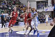 DESCRIZIONE : Eurocup 2015-2016 Last 32 Group N Dinamo Banco di Sardegna Sassari - Cai Zaragoza<br /> GIOCATORE : David Logan<br /> CATEGORIA : Passaggio Penetrazione<br /> SQUADRA : Dinamo Banco di Sardegna Sassari<br /> EVENTO : Eurocup 2015-2016<br /> GARA : Dinamo Banco di Sardegna Sassari - Cai Zaragoza<br /> DATA : 27/01/2016<br /> SPORT : Pallacanestro <br /> AUTORE : Agenzia Ciamillo-Castoria/L.Canu