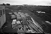 24/09/1963<br /> 09/24/1963<br /> 24 September 1963<br /> Brittain's new site at the Long Mile Road, Dublin. View at beginning of construction, in background is premises of Aspro Nicholas.